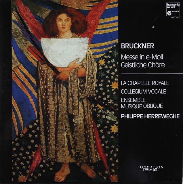 ヘルヴェッヘのブルックナー/ミサ曲ホ短調 仏HM 3288 LP レコード