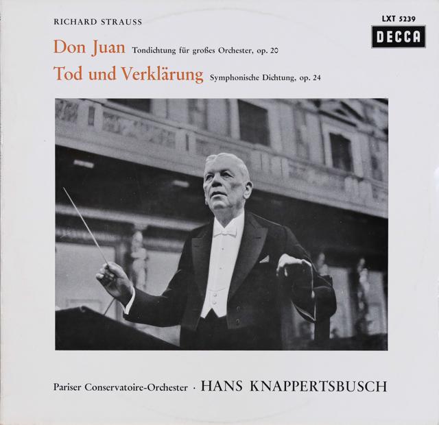 クナッパーツブッシュのR.シュトラウス/「ドン・ファン」&「死と浄化」 独DECCA 3288 LP レコード