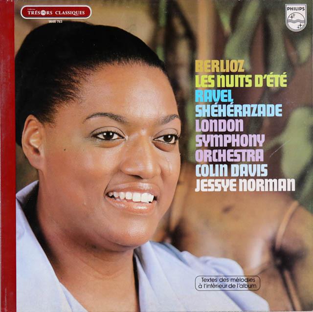 ノーマン&デイヴィスのベルリオーズ/「夏の夜」ほか 仏PHILIPS 2731 LP レコード