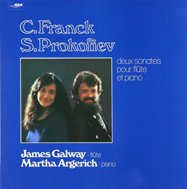 ゴールウェイ&アルゲリッチのフランク&プロコフィエフ/ソナタ集 仏RCA 3289 LP レコード