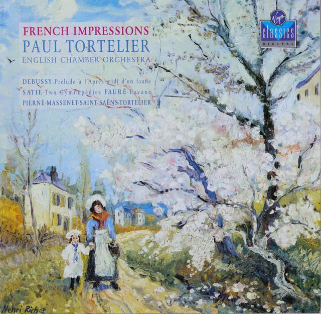 トルトゥリエのドビュッシー/「牧神の午後への前奏曲」ほか 独Virgin 2731 LP レコード
