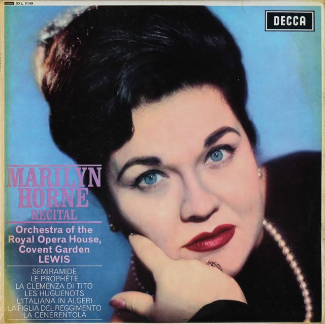 【オリジナル盤】 マリリン・ホーン/リサイタル 英DECCA 3289 LP レコード