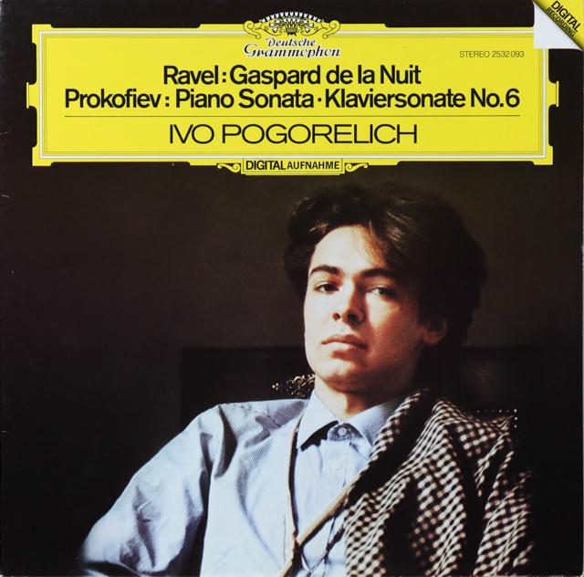 ポゴレリチのラヴェル/「夜のガスパール」ほか 独DGG 3289 LP レコード
