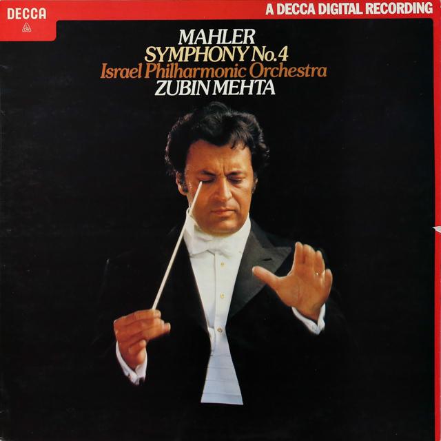 【オリジナル盤】 メータのマーラー/交響曲第4番 英DECCA 3289 LP レコード