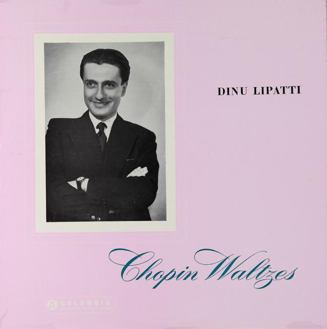 リパッティのショパン/ワルツ集 英Columbia 2732 LP レコード