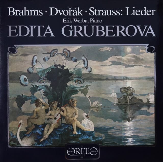 グルベローヴァのブラームス/「ひばりの歌」ほか 独ORFEO 2733 LP レコード