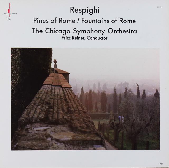 ライナーのレスピーギ/「ローマの松」「ローマの泉」 米CHESKY RECORDS 2733 LP レコード