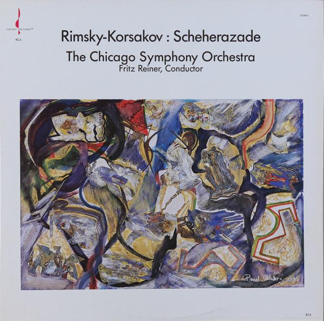 ライナーのリムスキー=コルサコフ/「シェヘラザード」 米CHESKY RECORDS 2733 LP レコード