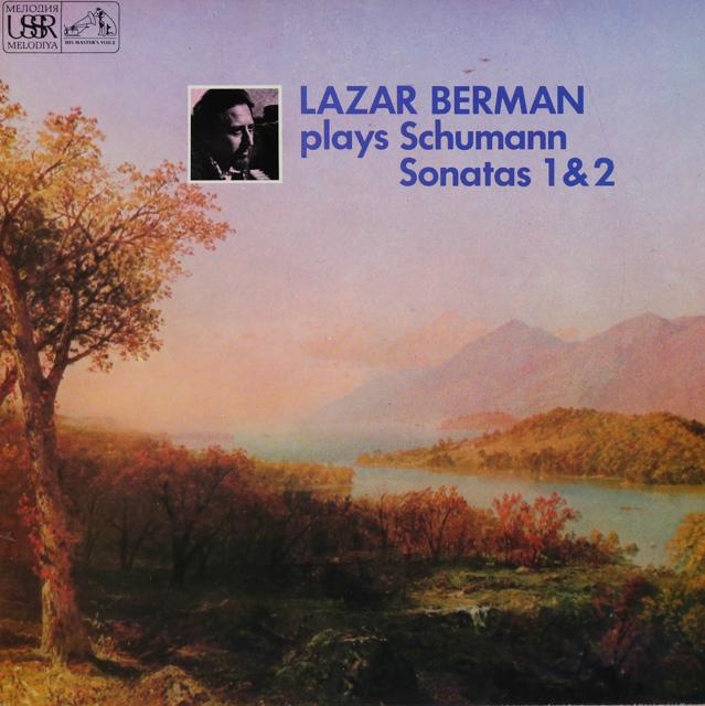 ベルマンのシューマン/ピアノソナタ第1&2番 英EMI 3289 LP レコード