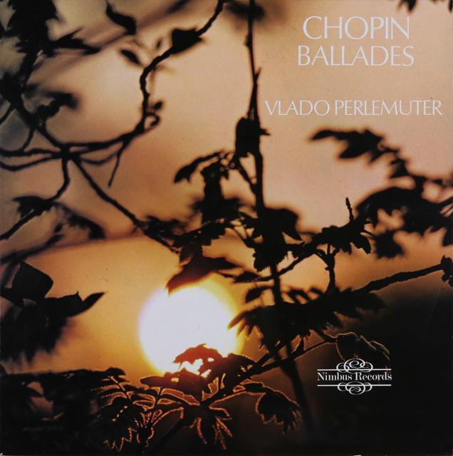 ペルルミュテールのショパン/バラード集 英Nimbus 3289 LP レコード