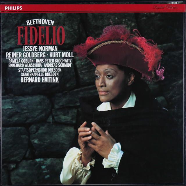 ノーマン&ハイティンクのベートーヴェン/「フィデリオ」 蘭PHILIPS 2734 LP レコード