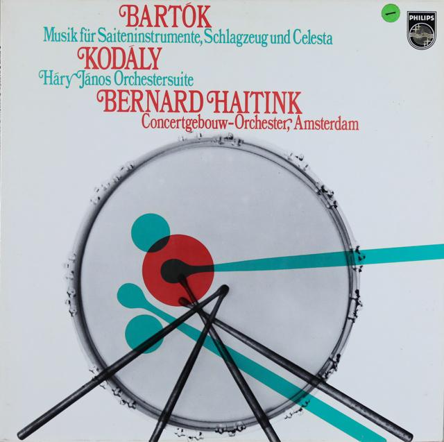 ハイティンクのコダーイ/ハーリ・ヤーノシュほか 蘭PHILIPS 3289 LP レコード