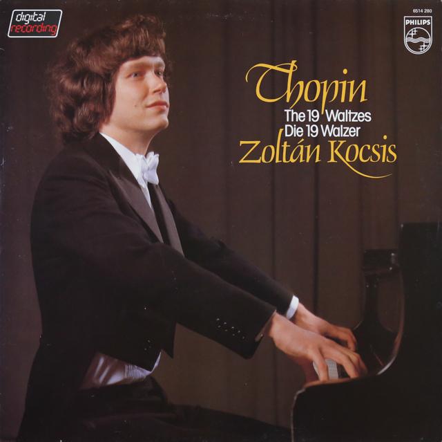 コチシュのショパン/ワルツ集 蘭PHILIPS 3289 LP レコード