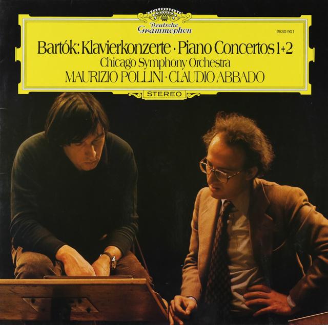 ポリーニ&アバドのバルトーク/ピアノ協奏曲第1&2番 独DGG 3226 LP レコード
