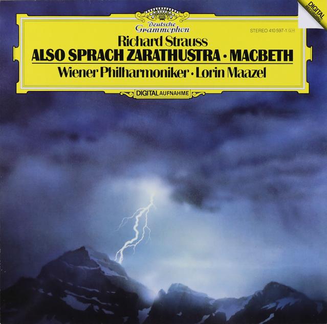 マゼールのR.シュトラウス/「ツァラトゥストラ」ほか 独DGG 3226 LP レコード