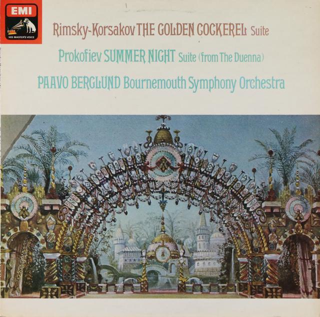 【オリジナル盤】 ベルグルンドのリムスキー=コルサコフ/「金鶏」ほか 英EMI 3226 LP レコード