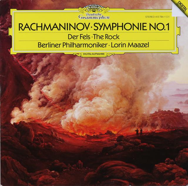 マゼールのラフマニノフ/交響曲第1番ほか 独DGG 3226 LP レコード