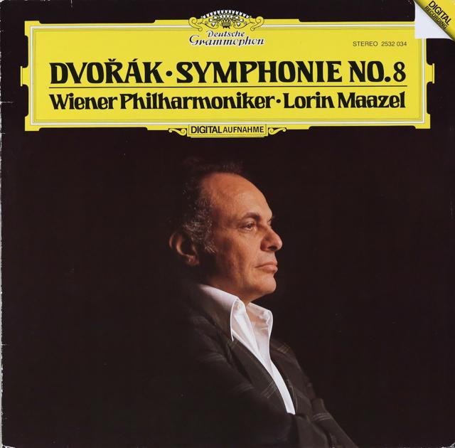 マゼールのドヴォルザーク/交響曲第8番 独DGG 3226 LP レコード