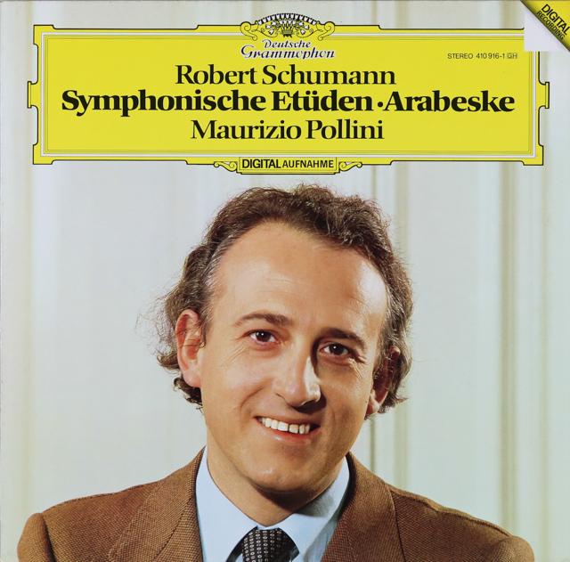 ポリーニのシューマン/「交響的練習曲」ほか 独DGG 3226 LP レコード