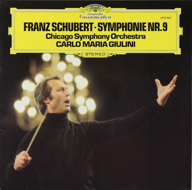 ジュリーニのシューベルト/交響曲第9番「ザ・グレート」 独DGG 2737 LP レコード