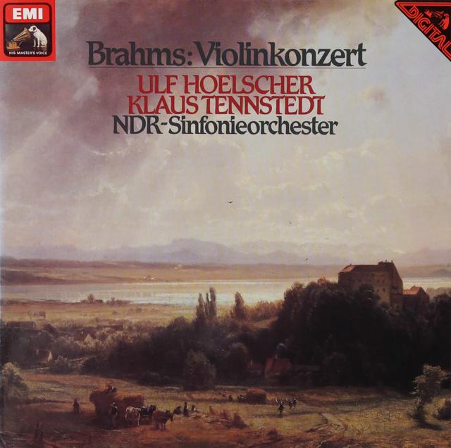 ウルフ・ヘルシャー&テンシュテットのブラームス/ヴァイオリン協奏曲 独EMI 3288 LP レコード