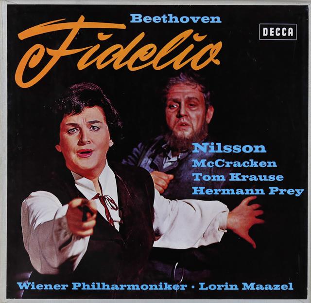 マゼールのベートーヴェン/「フィデリオ」 独DECCA 3288 LP レコード