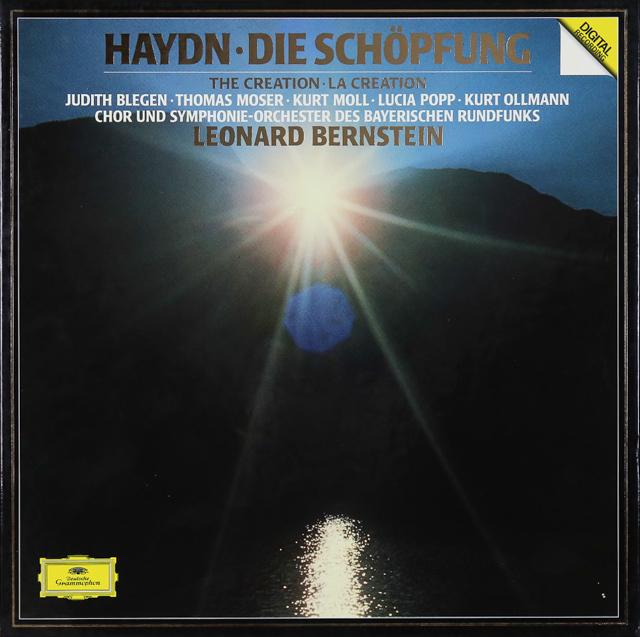 バーンスタインのハイドン/「天地創造」 独DGG 3288 LP レコード