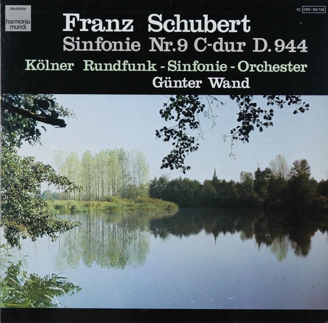 ヴァントのシューベルト/交響曲第9番「グレイト」 独HM 3288 LP レコード