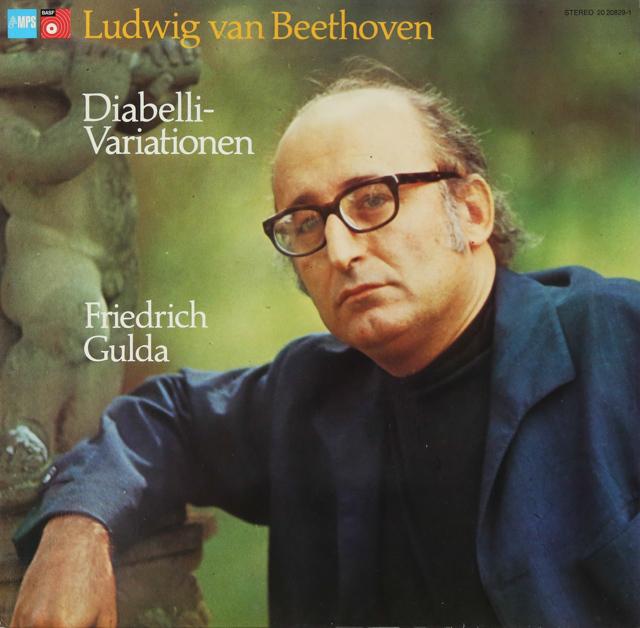 グルダのベートーヴェン/ディアベリ変奏曲 独MPS 3288 LP レコード