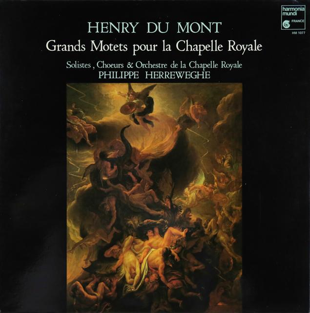 ヘレヴェッへのデュ・モン/グラン・モテット集 仏HM 2743 LP レコード