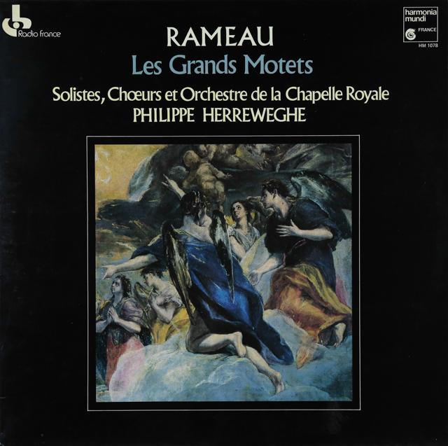 ヘレヴェッへのラモー/グラン・モテット集 仏HM 2743 LP レコード
