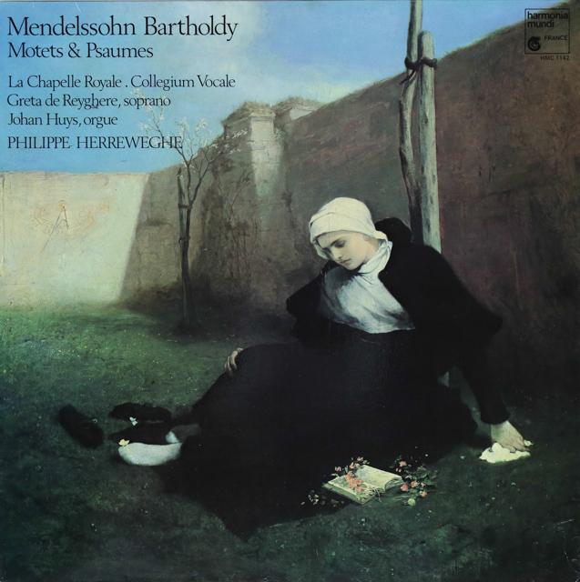 ヘレヴェッへのメンデルスゾーンの/モテットと詩篇 仏HM 2743 LP レコード