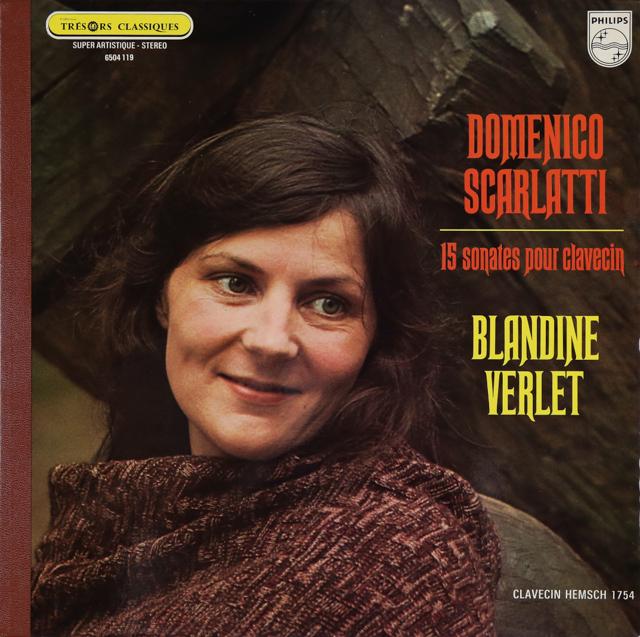 ヴェルレのスカルラッティ/ソナタ集 仏PHILIPS 3287 LP レコード
