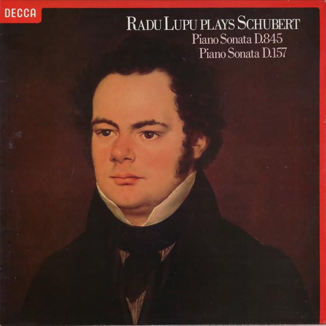 【オリジナル盤】ルプーのシューベルト/ピアノソナタ第16&1番  英DECCA 2741 LP レコード