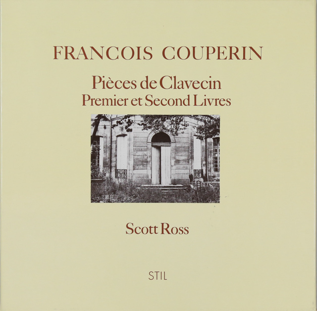 ロスのクープラン/クラヴサン小品集(第1&2巻) 仏STIL 2741 LP レコード