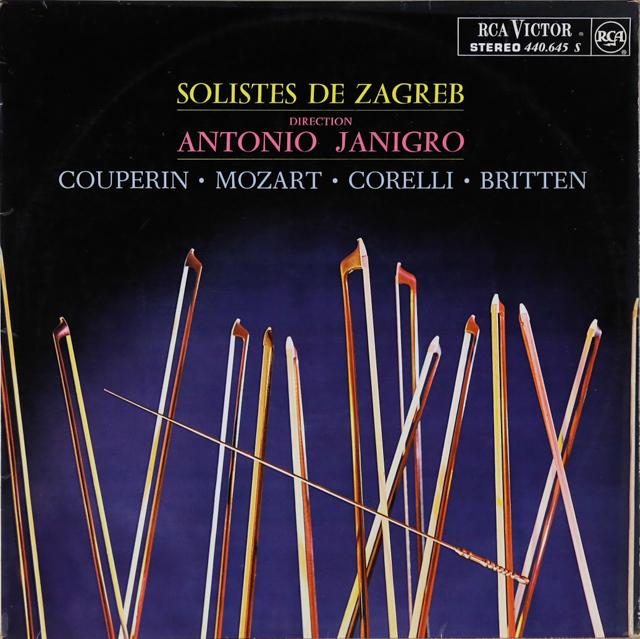 ヤニグロのクープラン/チェロと管弦楽のための小品ほか 仏RCA 3288 LP レコード