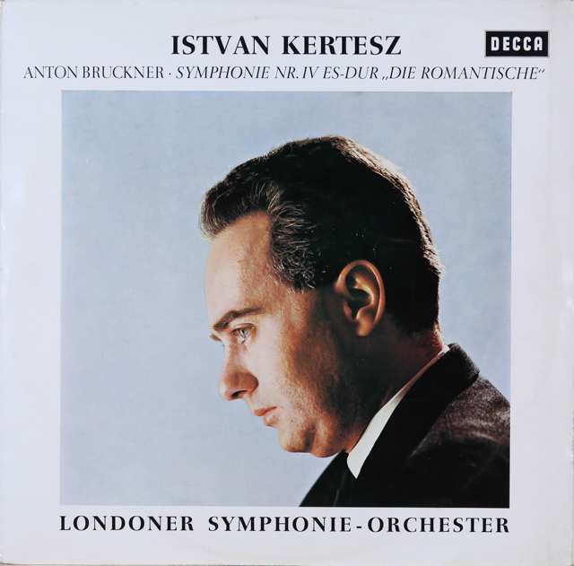 ケルテスのブルックナー/交響曲第4番「ロマンティック」 独DECCA 3287 LP レコード