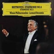 バーンスタインのベートーヴェン/交響曲第8&9番 独DGG 2901 LP レコード