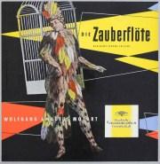 フリッチャイのモーツァルト/「魔笛」全曲 独DGG 2901 LP レコード