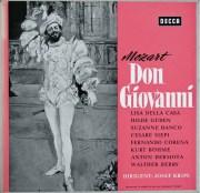 クリップスのモーツァルト/「ドン・ジョヴァンニ」  独DECCA 2909 LP レコード