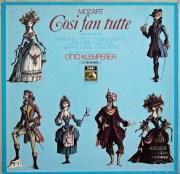 クレンペラーのモーツァルト/「コジ・ファン・トゥッテ」全曲 独EMI 2937 LP レコード