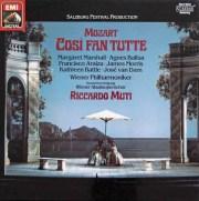 ムーティのモーツァルト/「コジ・ファン・トゥッテ」全曲 独EMI 2938 LP レコード