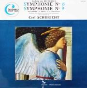 シューリヒトのベートーヴェン/交響曲第8&9番「合唱付き」 仏TRIANON 3014 LP レコード