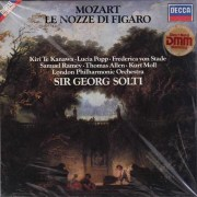 【未開封】 ショルティのモーツァルト/「フィガロの結婚」全曲 独DECCA 3044 LP レコード