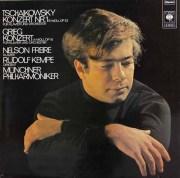 フレイレ&ケンペのチャイコフスキー&グリーグ/ピアノ協奏曲集 独CBS 2832 LP レコード
