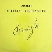 フルトヴェングラーのワーグナー/「トリスタンとイゾルデ」より 仏WF協会 2912 LP レコード