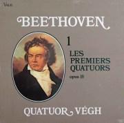 ヴェーグ四重奏団のベートーヴェン/前期弦楽四重奏曲集 仏valois 3033 LP レコード