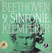クレンペラーのベートーヴェン/交響曲第9番 独Columbia 3017 LP レコード