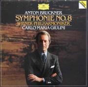 ジュリーニのブルックナー/交響曲第8番 独DGG 2922 LP レコード