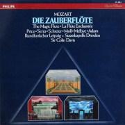 デイヴィスのモーツァルト/「魔笛」 蘭PHILIPS 2914 LP レコード